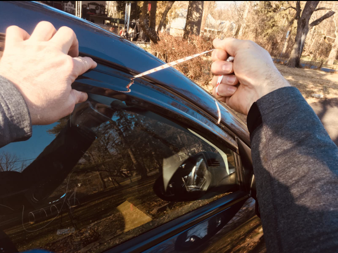 image applying window visor